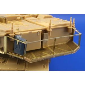 Merkava Mk.IV stowage basket