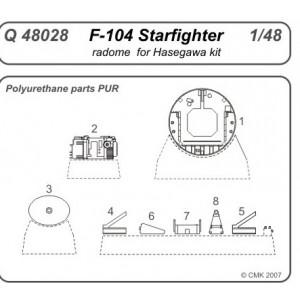 F-104 Starfighter nose...
