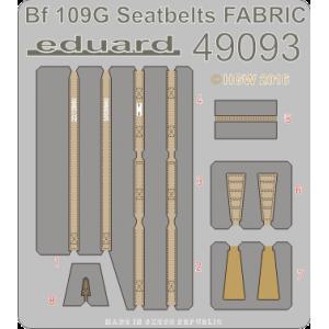Bf-109G seatbelts FABRIC 1/48