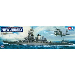 US Battleship BB-62 New Jersey