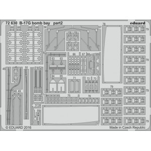 B-17G bomb bay 1/72