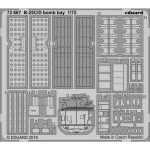 B-25 Mitchell C/ D bomb bay...