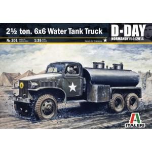 2½ ton 6x6 Water Tank Truck