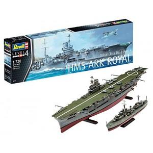HMS Ark Royal & Tribal...