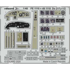 Do-217 J-1 interior 1/48