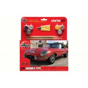 Jaguar E-Type Starter Set 1/32