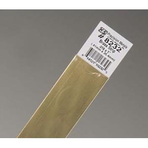 Brass Strip 25.4mm X 0.41mm...
