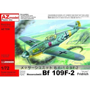 Bf-109 F-2 Aces 1/72