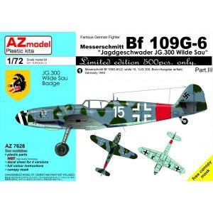 Bf-109 G-6 'JG 300 Wilde...