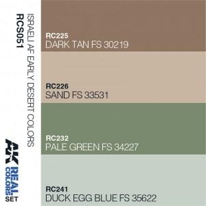 Israeli AF Early Desert Colors