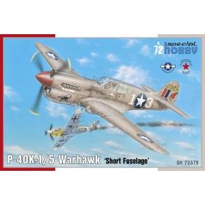 P-40 K-1/5 Warhawk Short Tail