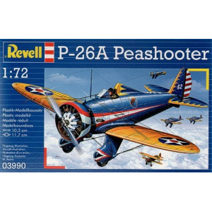 Boeing P-26A Peashooter 1/72