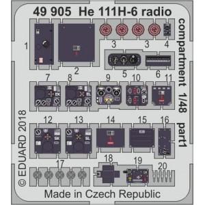 He-111 H-6 radio...