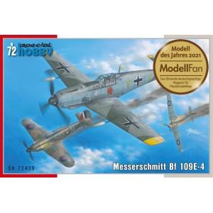 Bf-109 E-4 1/72