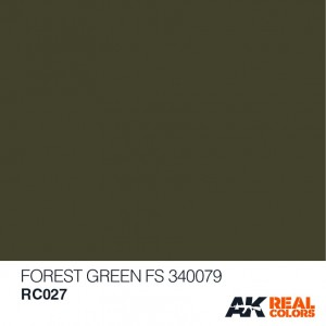 RC027 Forest Green FS 34079