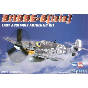 Bf109 G-6 (late) Easy Build