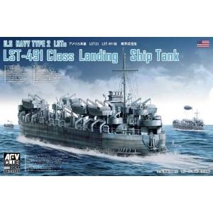US Navy Type 2 LSTs LST-491...