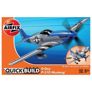 D-Day P-51D Mustang Quickbuild