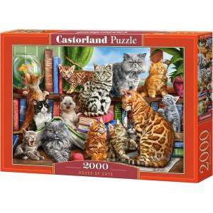 HOUSE of CATS Puzzle 2000pcs
