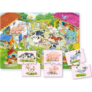 Mother and Baby PUZZLE 12pcs