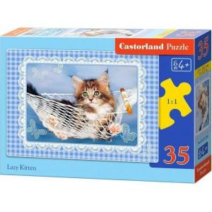 Lazy Kitten PUZZLE 35pcs