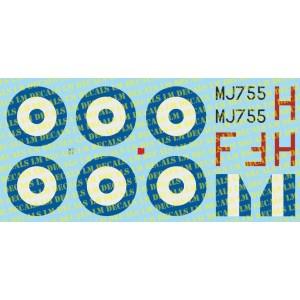HAF Restored Spitfire 1/72