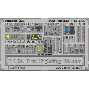 F-16A Plus interior 1/72