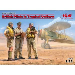 British Pilots in Tropical...