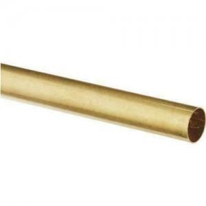 Round Brass Tube 11.1mm