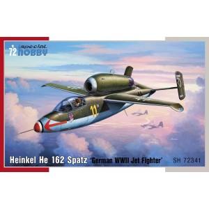 Heinkel He-162 Spatz 1/72