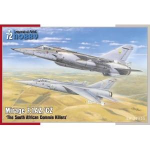 Mirage F.1 AZ/CZ 1/72