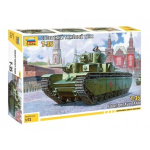 Soviet T-35 Heavy Tank 1/72
