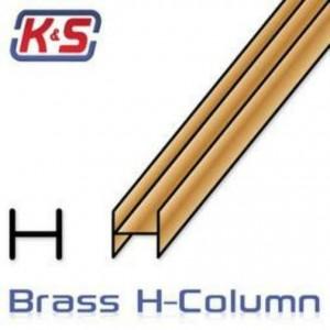 BRASS H COLUMN 3.18mm