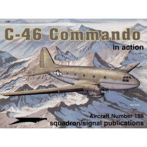 Curtiss C-46 Commando in action