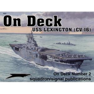 USS Lexington on deck