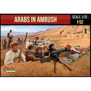 Arabs in Ambush WWI 1/72