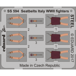 Seatbelts Italy WWII...