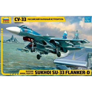 Su-33 Flanker-D Russian 1/72