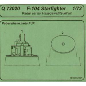 F-104 Starfighter radome 1/72