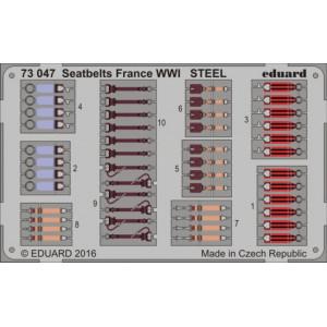 Seatbelts France WWI STEEL