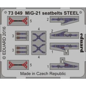 MiG-21 Fishbed seatbelts STEEL