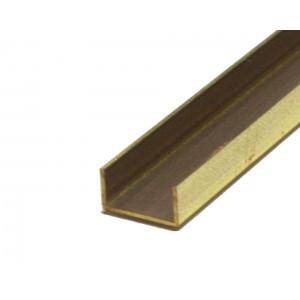 Brass Channel 3/16in