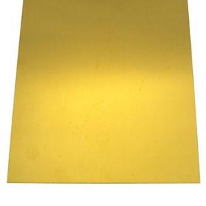 """Brass Sheet .015 x 4 x 10"""""""