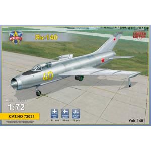 Yakovlev Yak-140 Soviet prototype fighter