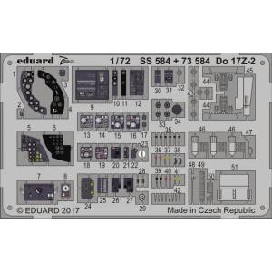 Do 17Z-2 interior ZOOM 1/72