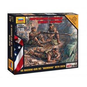 "American Machine gun ""Browning"" - 3 figures"