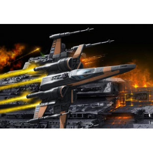 Build & Play Poe's X Wing Fighter - Star Wars