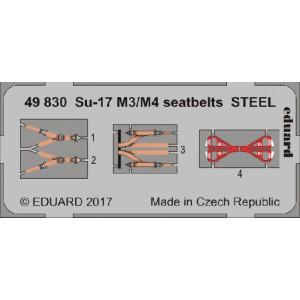 Su-17 Fitter M3/ M4 seatbelts STEEL 1/48