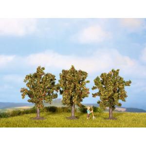 Apple Trees, 3 pieces, 8 cm high