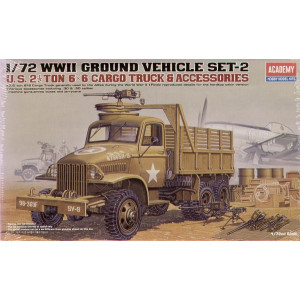 WWII US 6x6 Cargo Truck GMC and Accessories